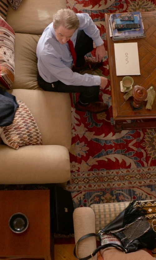 Kevin Kline with Paul Smith Ryan Wingtip Oxford Shoes in Ricki and the Flash