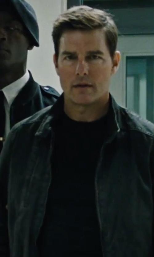 Tom Cruise with Rodd & Gunn Casual Harrington Jacket in Jack Reacher: Never Go Back