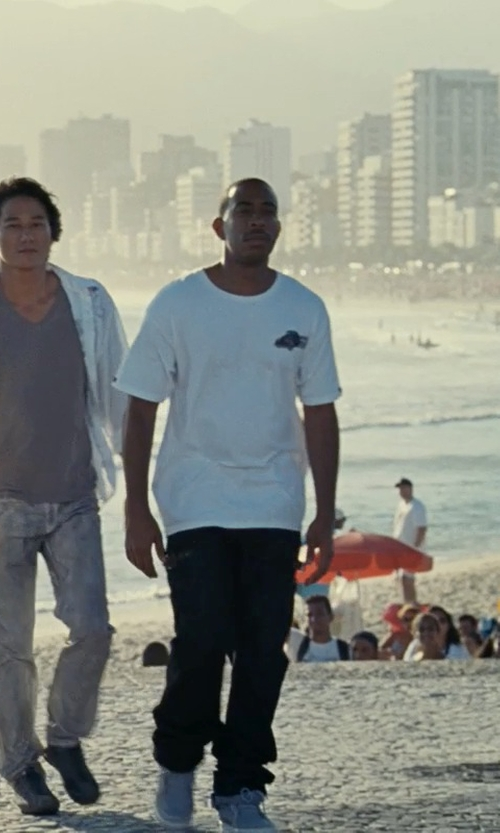 Ludacris with Love Moschino Logo T-Shirt in Fast Five