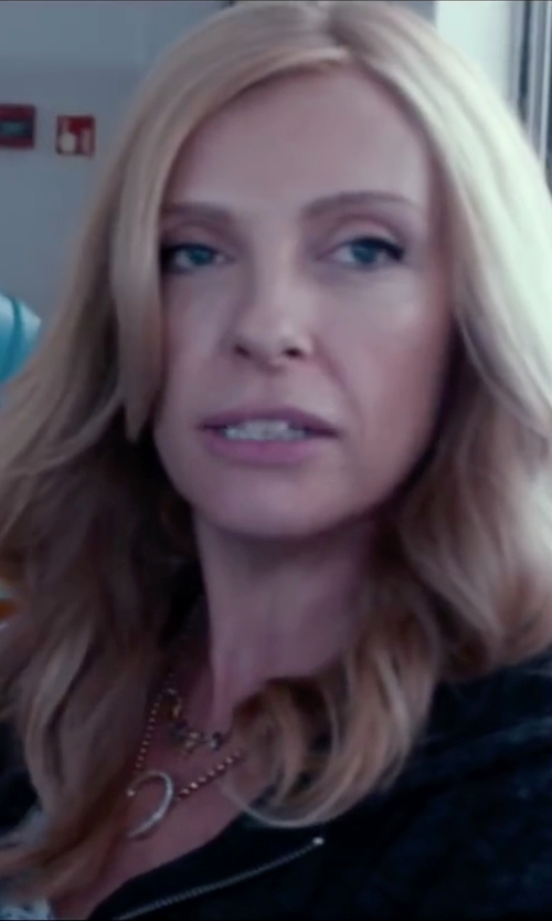 Toni Collette with Alternative Adrian Zip Up Hoodie in Miss You Already