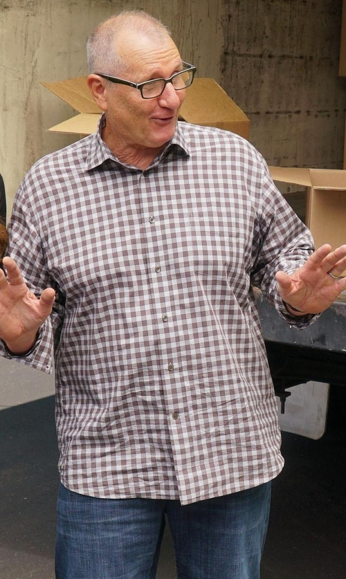 Ed O'Neill with Scaglione City Checked Shirt in Modern Family