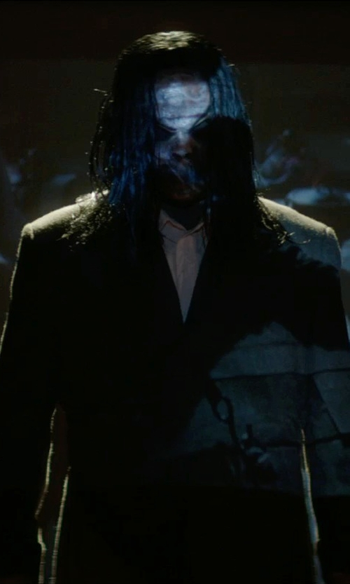 Nicholas King with Mauro Grifoni Double Breasted Wool Blazer in Sinister 2