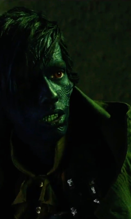 Kodi Smit-McPhee with Shawhuwa Trench Coat in X-Men: Apocalypse