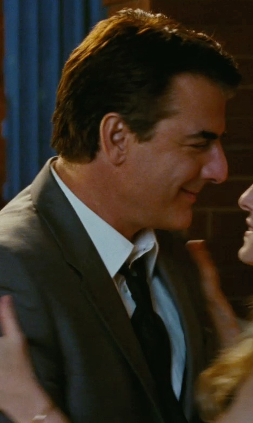 Chris Noth with Brioni Broadcloth Dress Shirt in Sex and the City