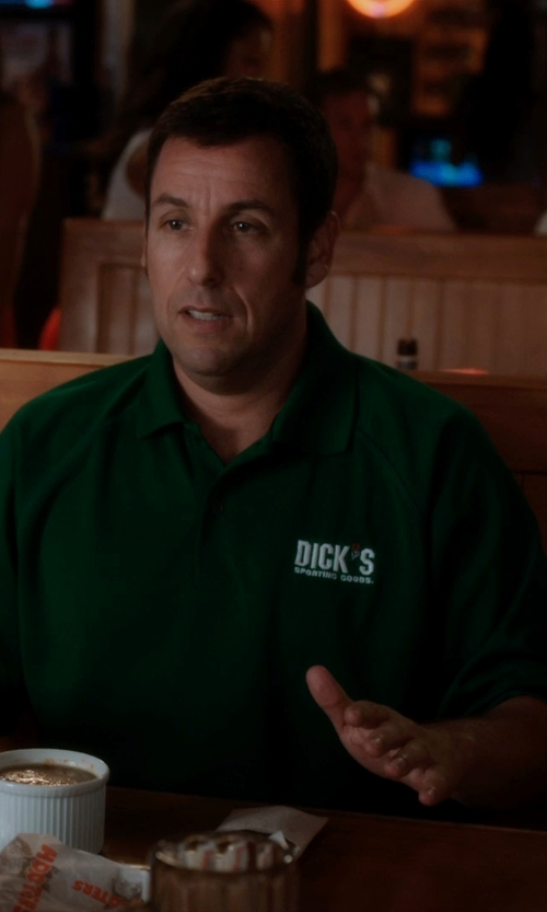 Adam Sandler with Dick's Sporting Goods Cotton shirt in Blended
