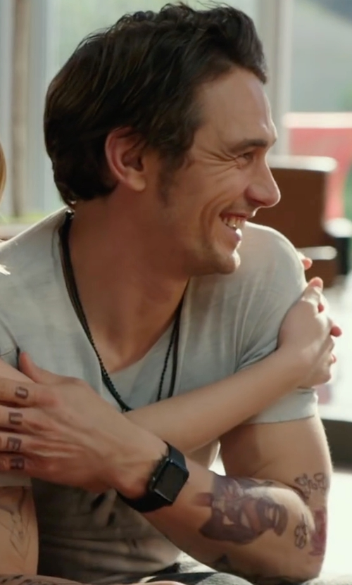 James Franco with Apple Sport Watch in Why Him?