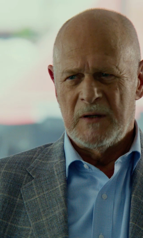 Gerald McRaney with Paul Smith London 'Byard' Trim Fit Check Wool Sport Coat in Focus