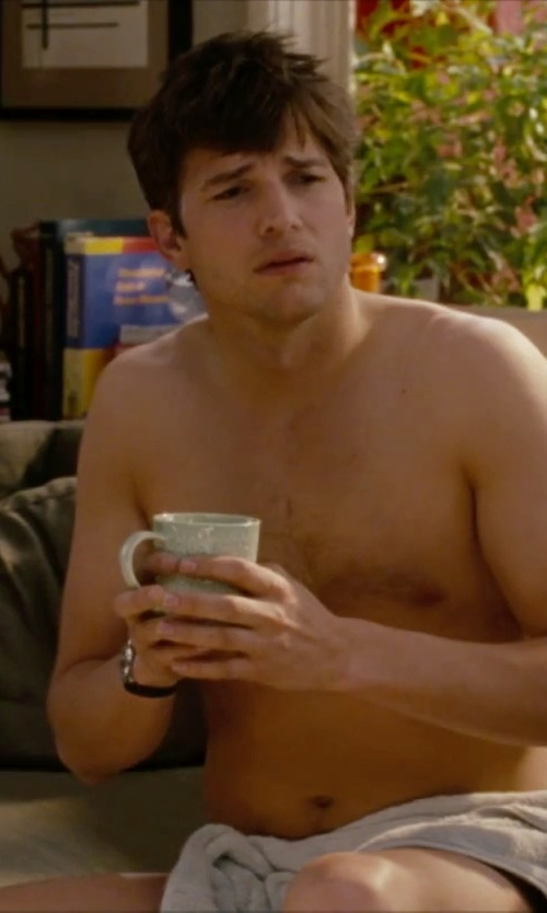 Ashton Kutcher with The Cellar Whiteware Tapered Mug in No Strings Attached