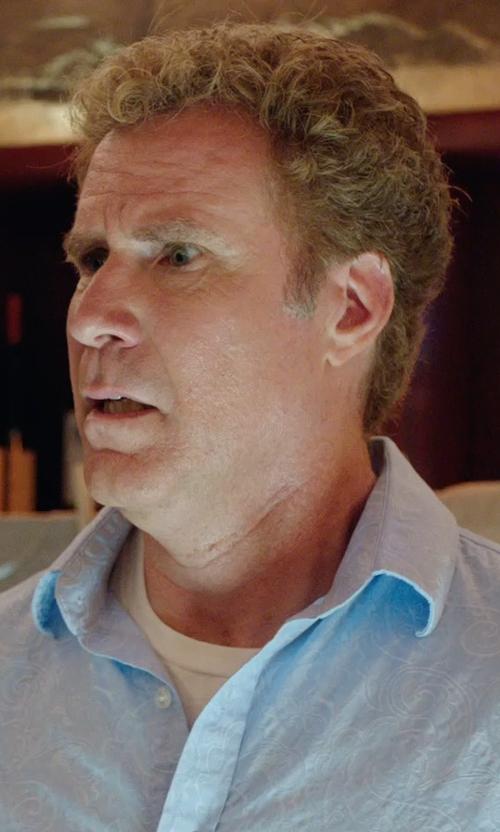 Will Ferrell with Velvetmen Short-Sleeve Crew-Neck T-Shirt in Get Hard