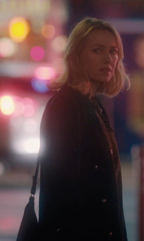 Naomi Watts with Barneys New York Classic Hobo Bag in Gypsy