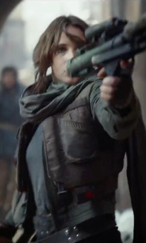 Felicity Jones with BB Dakota Cecelia Jacket in Rogue One: A Star Wars Story
