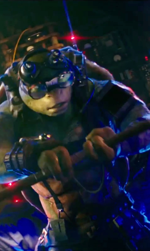 Jeremy Howard with Wes Louie (Concept Illustrator) Donatello in Teenage Mutant Ninja Turtles: Out of the Shadows