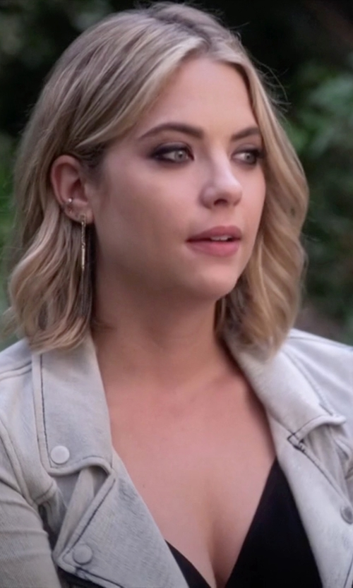 Ashley Benson with Michael Kors Pavé Matchstick Drop Earrings in Pretty Little Liars