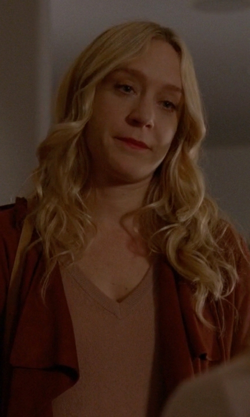 Chloë Sevigny with Dolce & Gabbana V-Neck Sweater in American Horror Story
