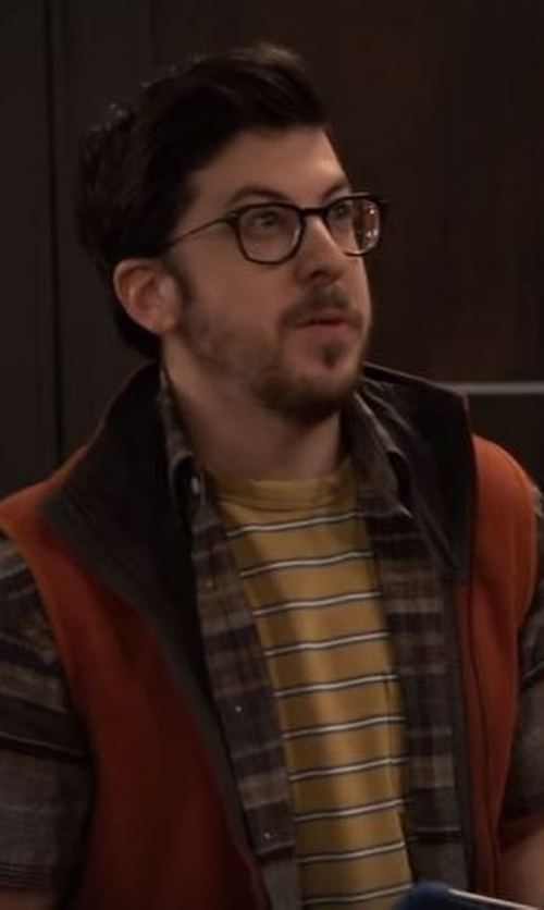 Christopher Mintz-Plasse with Ralph Lauren Square Eyeglasses in The Great Indoors