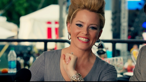 Elizabeth Banks with J. Crew Floral Pastel Cuff in Pitch Perfect 2