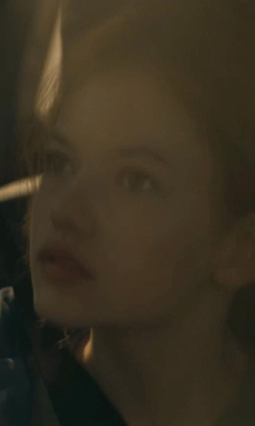 Mackenzie Foy with Devon & Jones Ladies' Hooded Soft Shell Jacket in Interstellar