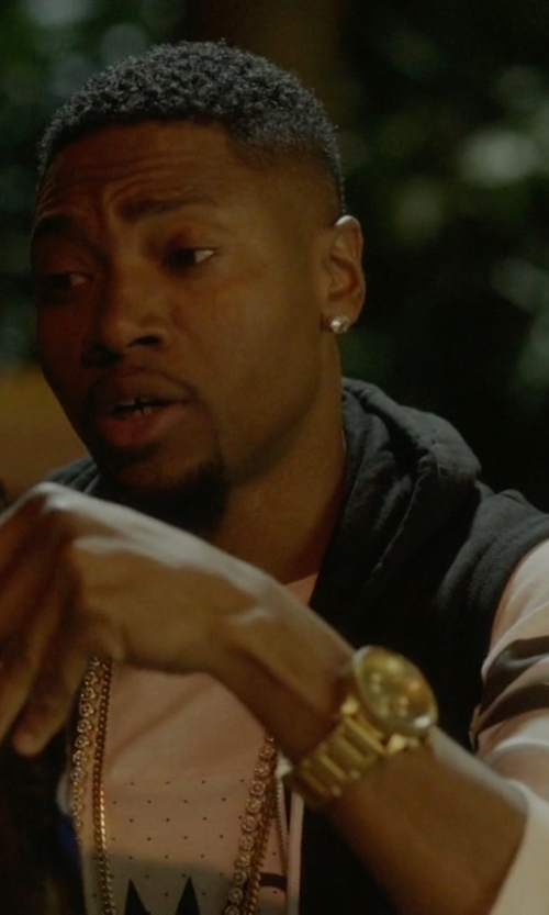 London Brown with Nixon 'The Monopoly' Watch in Ballers