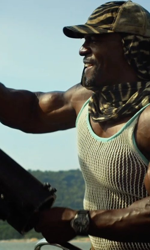 Terry Crews with Panerai Luminor Men's Automatic Watch - PAM00389 in The Expendables 3