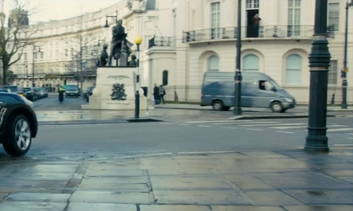 Unknown Actor with 1 Grosvenor Crescent London, United Kingdom in Survivor