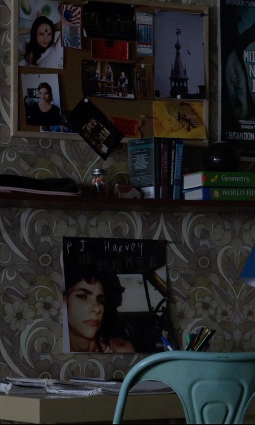 Stefanie Scott with Pj Harvey Uh Huh Her Vinyl in Insidious: Chapter 3