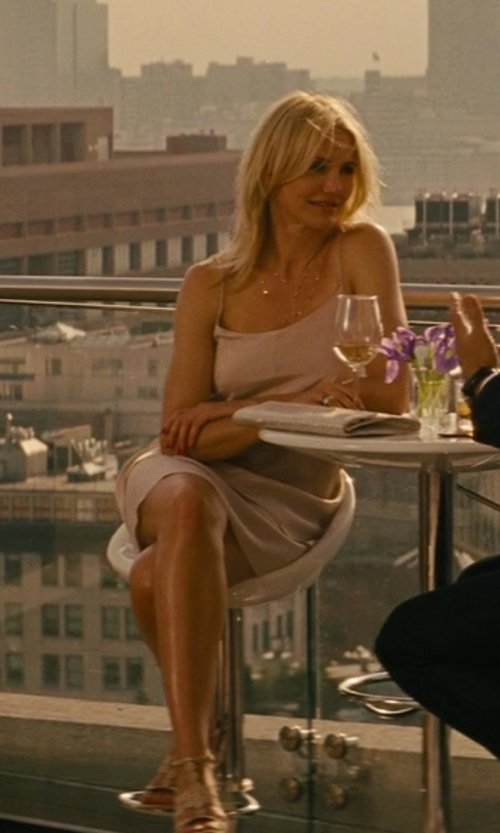 Cameron Diaz with Alaïa Cut-Out Stiletto Sandal in The Other Woman