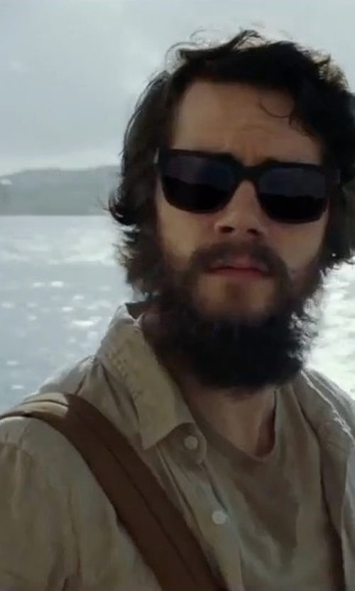 Dylan O'Brien with Herschel Supply Co. Little America Backpack in American Assassin