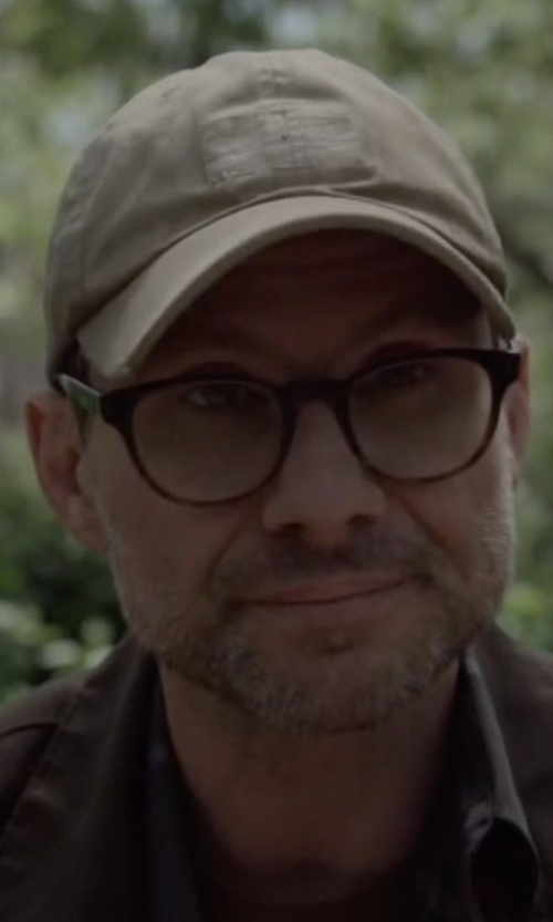 Christian Slater with Pukka Cotton Baseball Cap in Mr. Robot