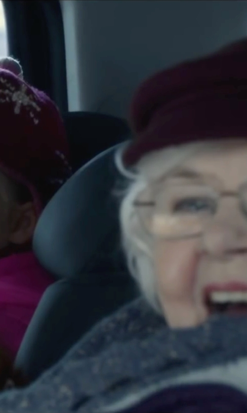 June Squibb with Michael Michael Kors Cable Knit Scarf in Love the Coopers