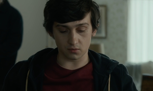 Craig Roberts with Nautica CVC Full Zip Hoodie in The Fundamentals of Caring