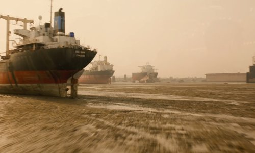 Unknown Actor with Chittagong Port Cargo Station Chittagong, Bangladesh in Avengers: Age of Ultron