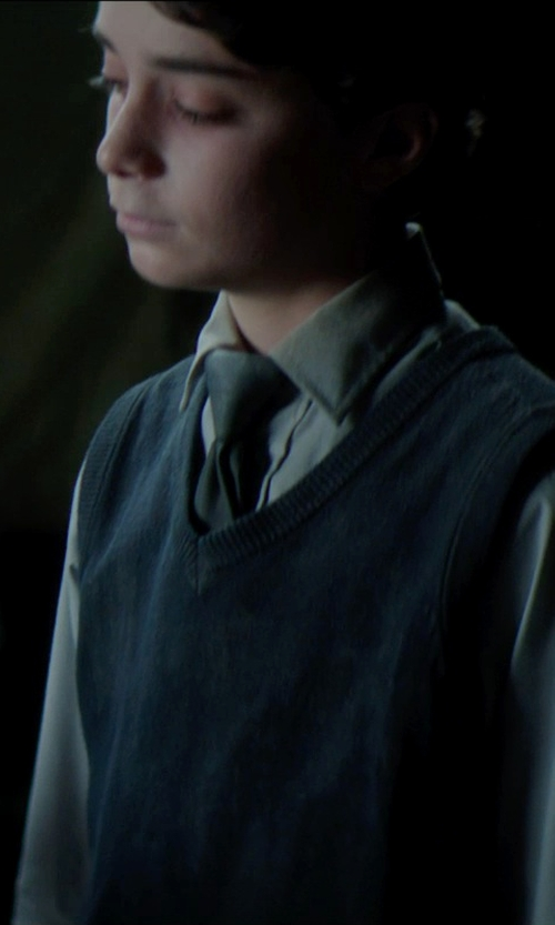Lucas Jade Zumann with French Toast School Uniform Sweater Vest in Sinister 2