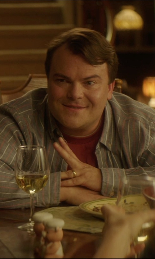 Jack Black with Jewelplus Half Round Edge Wedding Band in The D Train