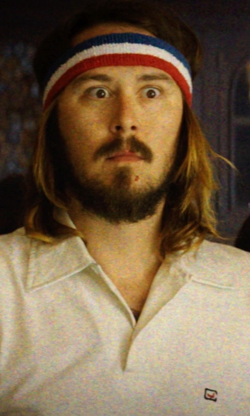 Kyle Newacheck with American Apparel US Stripe Unisex Flex Terry Headband in Neighbors
