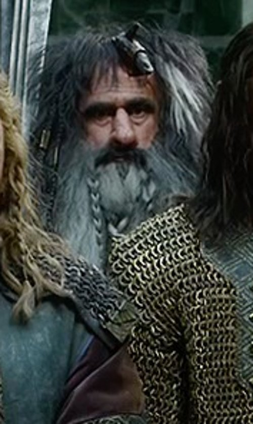 William Kircher with Ann Maskrey & Bob Buck (Costume Designer) Custom Made Bifur Costume in The Hobbit: The Battle of The Five Armies
