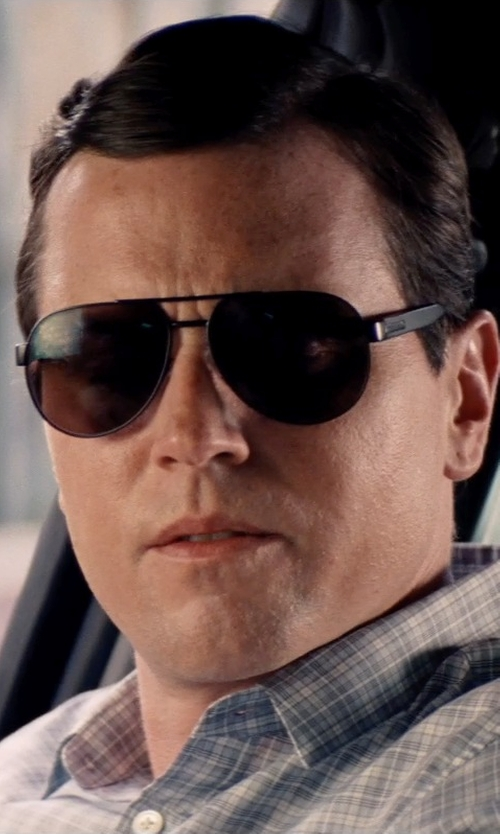 Michael Mosley with Ray-Ban Aviator Sunglasses in Hot Pursuit