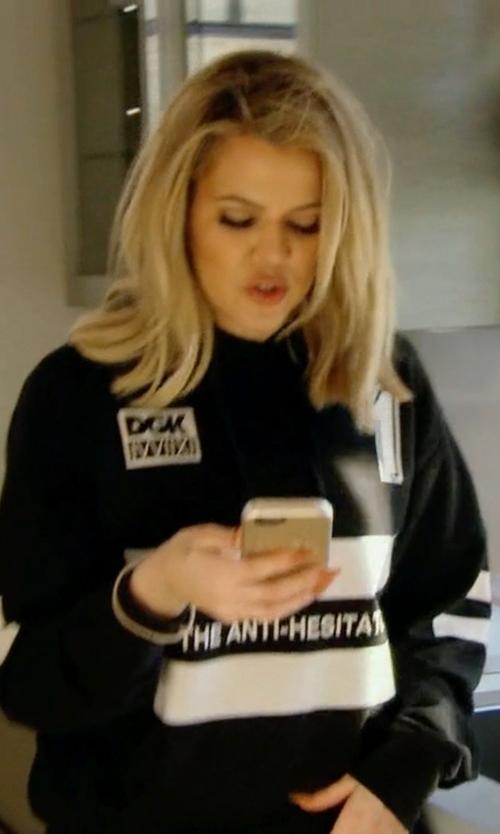 Khloe Kardashian with DGK Anti Hesitator Hoodie in Keeping Up With The Kardashians
