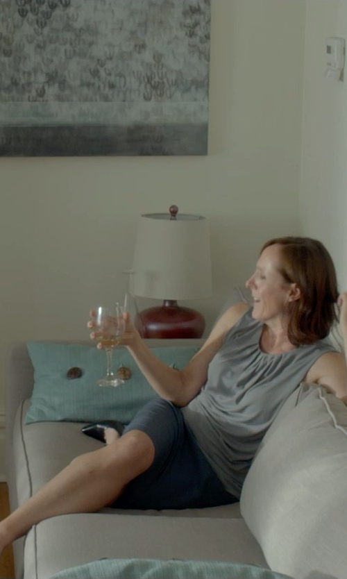 Molly Shannon with Calvin Klein Women's Gayle Pump Sandals in Me and Earl and the Dying Girl
