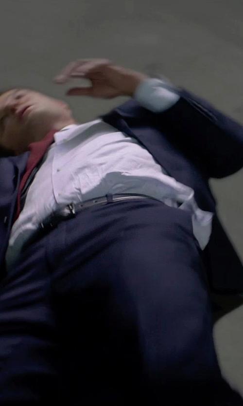 Jason Clarke with Will Leather Goods Umpqua Beaded Belt in Terminator: Genisys