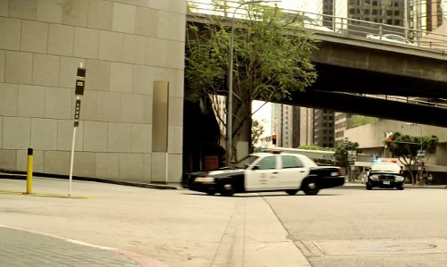 Unknown Actor with Bank of America Center Los Angeles, California in Taken 3