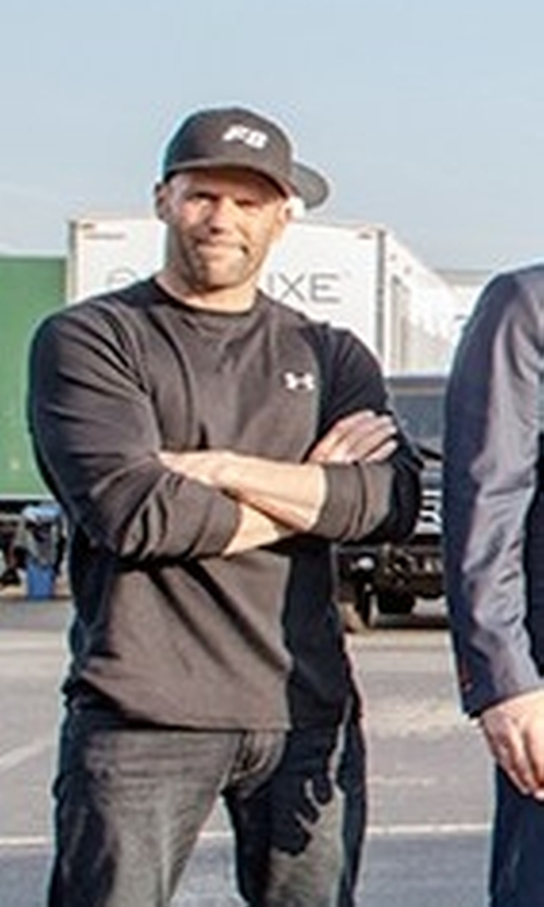 Jason Statham with Stussy Stock FA16 Snapback in The Fate of the Furious