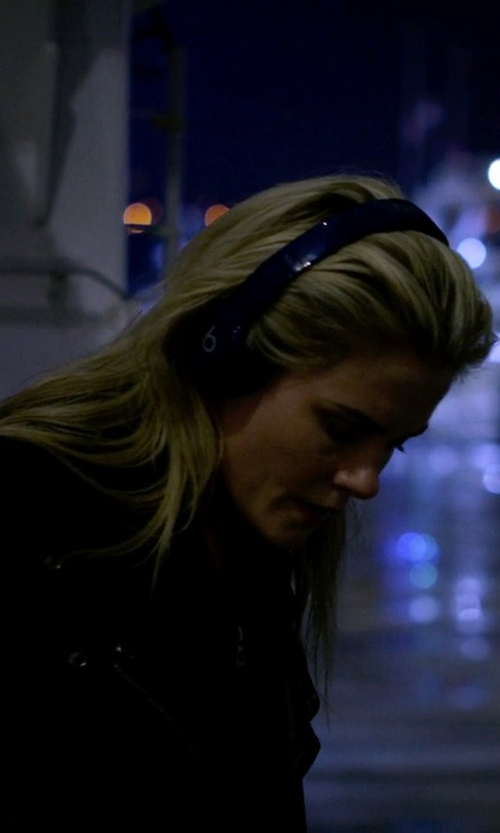 Rachael Taylor with Beats Solo2 Wireless On-Ear Headphones in Jessica Jones