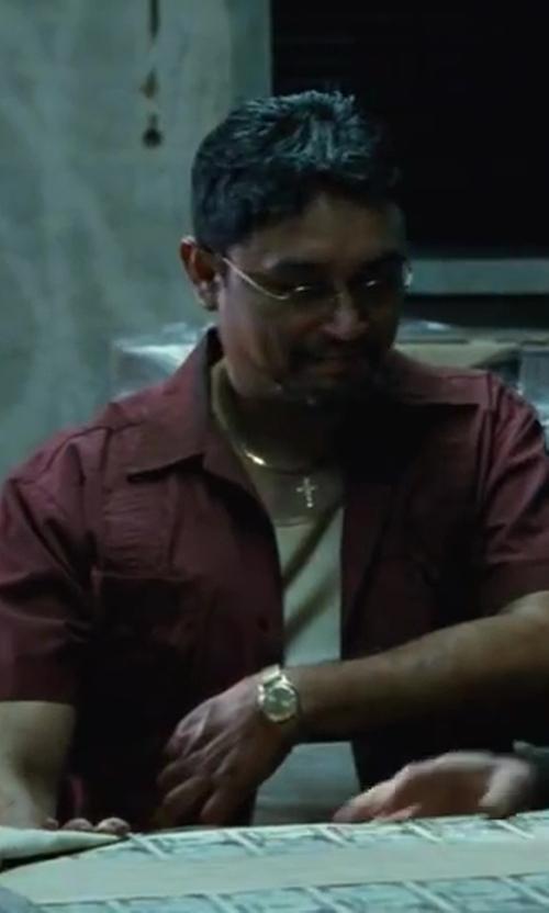 Viktor Hernandez with Wolverine Jackhammer Shirt in Contraband