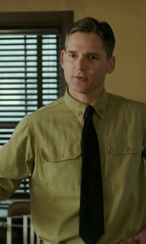 Eric Bana with Tru Spec Ripstop Uniform Shirt in The Finest Hours