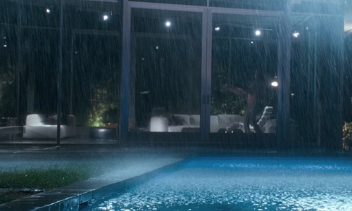 Ryan Gosling with Skyline Terrace Apartments Hollywood, CA in Crazy, Stupid, Love.