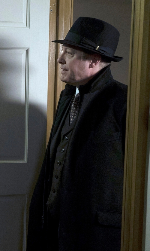 James Spader with Loro Piana Martingala Coat in The Blacklist