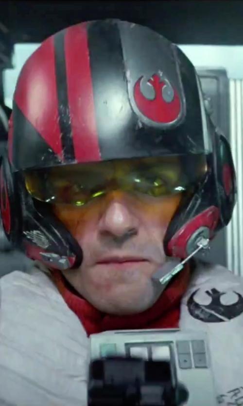 Oscar Isaac with Michael Kaplan (Costume Designer) Custom Made Flight Suit (Poe Dameron) in Star Wars: The Force Awakens