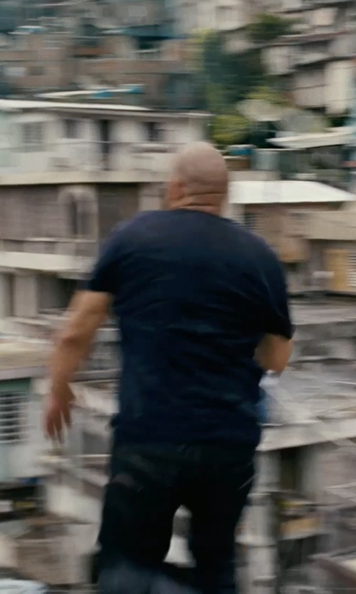 Vin Diesel with Carhartt Rebel Pants in Fast Five