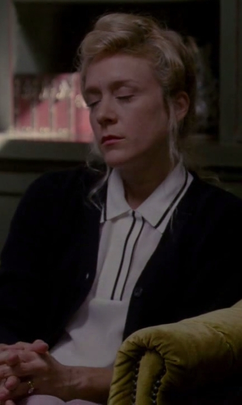 Chloë Sevigny with Rag & Bone 'Dana' Polo Shirt in American Horror Story