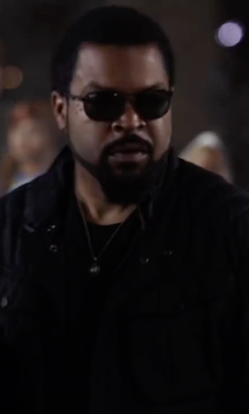 Ice Cube with Atm Anthony Thomas Melillo Crew Neck Slub Jersey T-Shirt in Ride Along 2